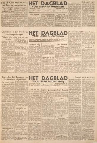 Dagblad voor Leiden en Omstreken 1944-10-21