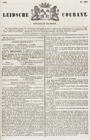 Leydse Courant 1875-12-21