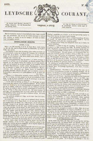 Leydse Courant 1855-07-06