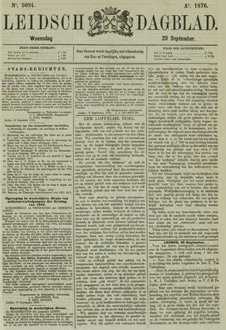 Leidsch Dagblad 1876-09-20