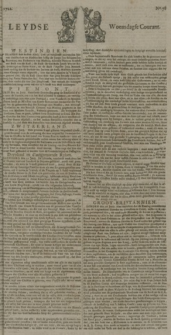 Leydse Courant 1722-07-01