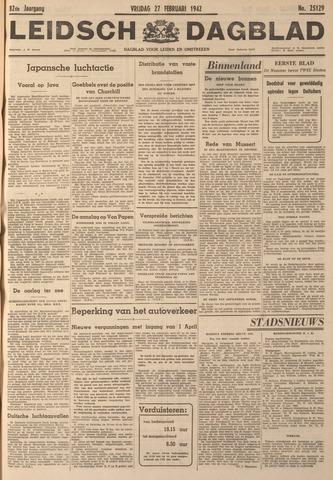 Leidsch Dagblad 1942-02-27