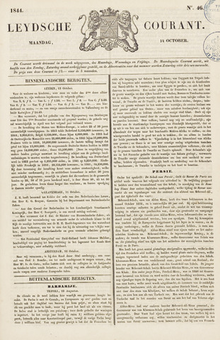Leydse Courant 1844-10-14