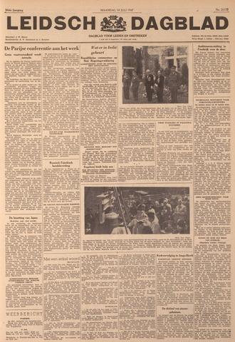 Leidsch Dagblad 1947-07-14