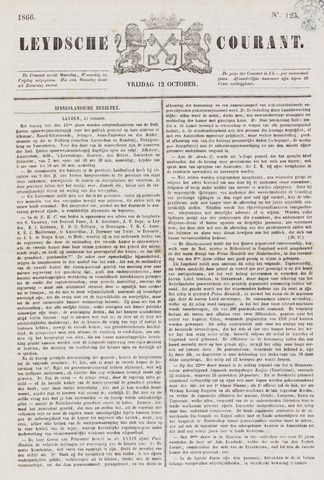 Leydse Courant 1866-10-12