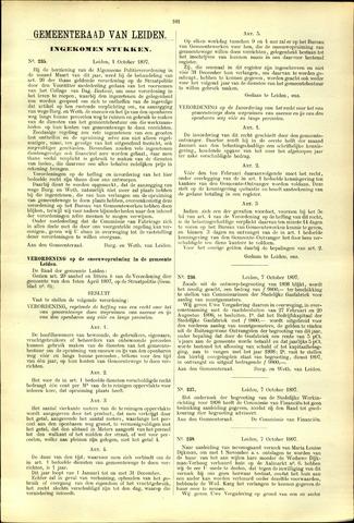 Handelingen van de Raad 1897-10-01
