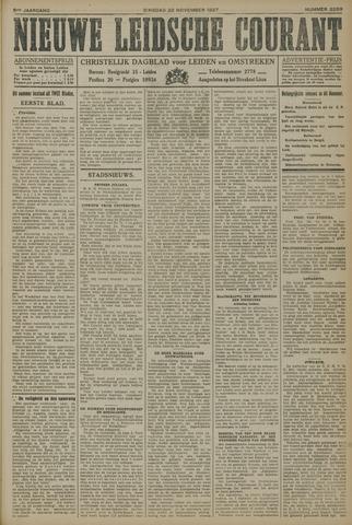 Nieuwe Leidsche Courant 1927-11-22
