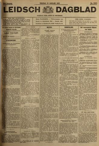 Leidsch Dagblad 1932-01-15