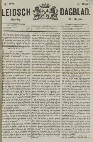 Leidsch Dagblad 1869-02-22