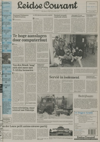Leidse Courant 1992-01-25