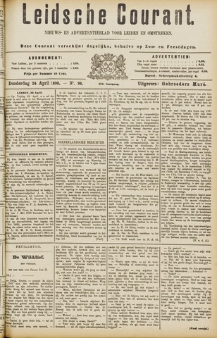 Leydse Courant 1890-04-24