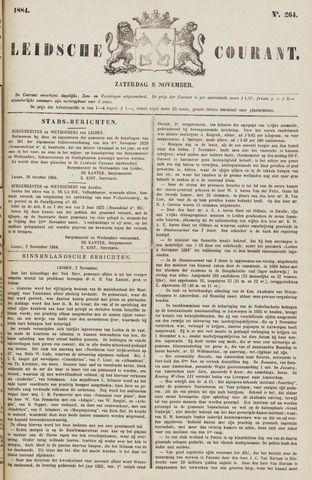 Leydse Courant 1884-11-08