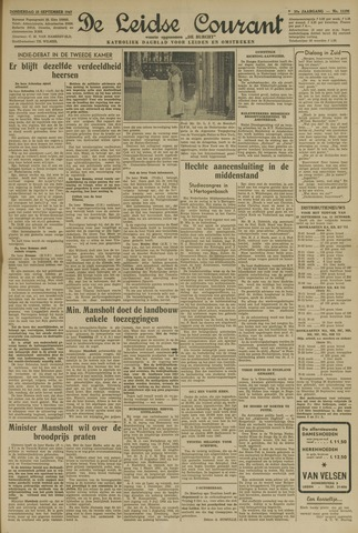 Leidse Courant 1947-09-25