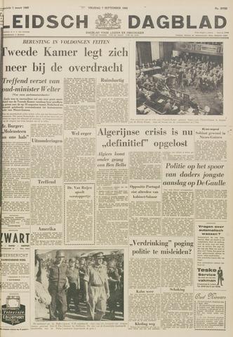 Leidsch Dagblad 1962-09-07