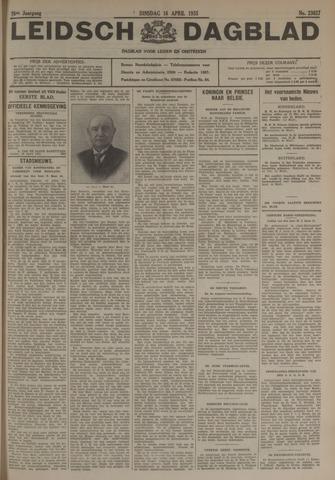 Leidsch Dagblad 1935-04-16