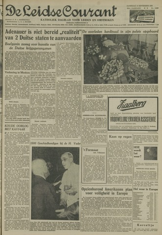 Leidse Courant 1955-09-10