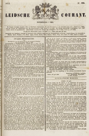 Leydse Courant 1873-05-01