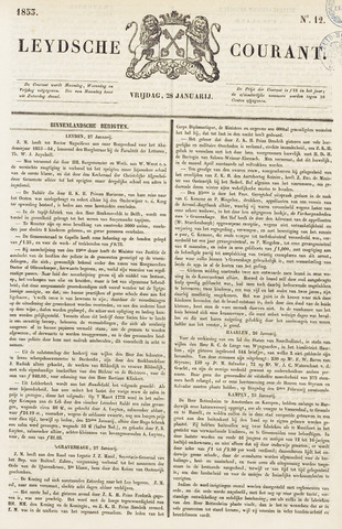 Leydse Courant 1853-01-28