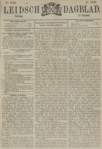 Leidsch Dagblad 1878-10-22
