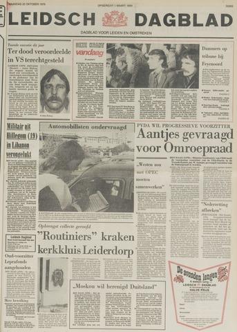 Leidsch Dagblad 1979-10-22