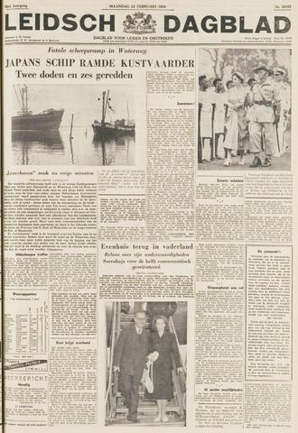 Leidsch Dagblad 1954-02-22