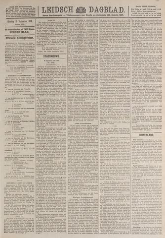 Leidsch Dagblad 1919-09-16