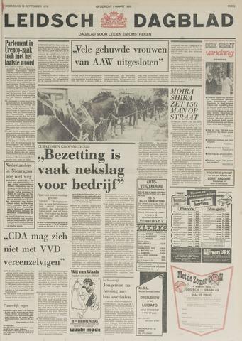 Leidsch Dagblad 1978-09-13