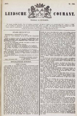 Leydse Courant 1877-12-14