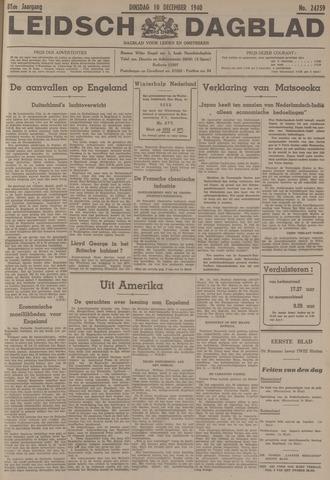 Leidsch Dagblad 1940-12-10
