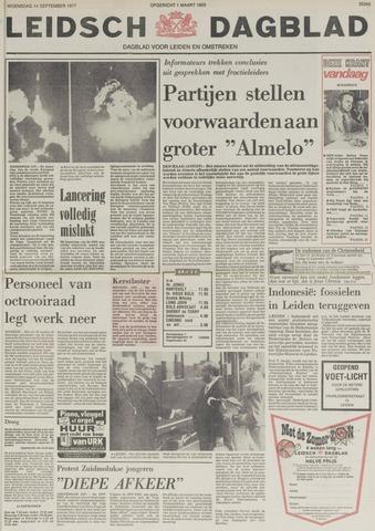 Leidsch Dagblad 1977-09-14