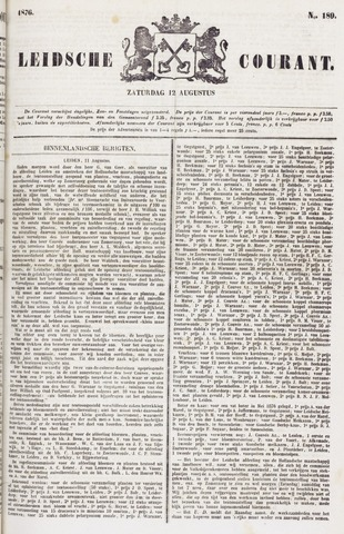 Leydse Courant 1876-08-12