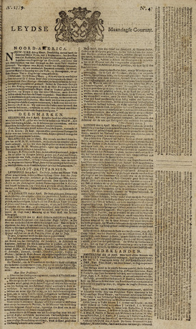Leydse Courant 1779-04-19