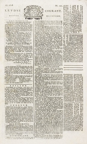 Leydse Courant 1818-09-07