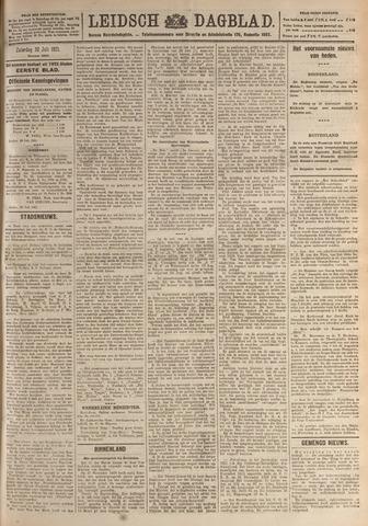 Leidsch Dagblad 1921-07-30