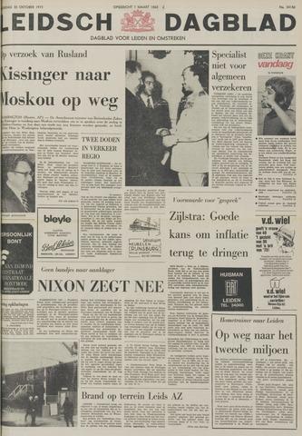 Leidsch Dagblad 1973-10-20