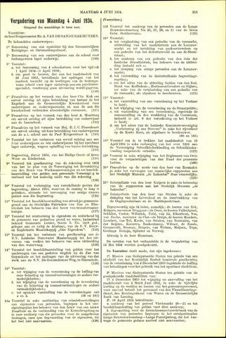 Handelingen van de Raad 1934-06-04