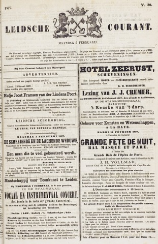 Leydse Courant 1877-02-05