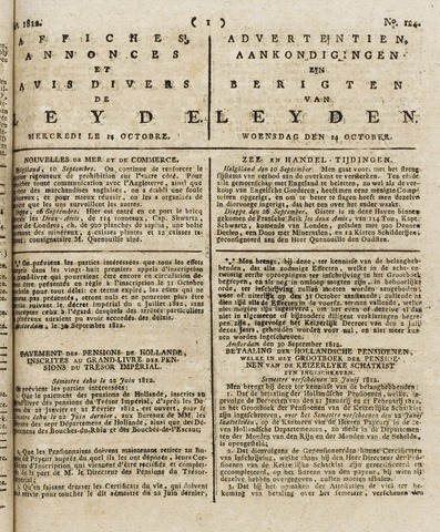Leydse Courant 1812-10-14