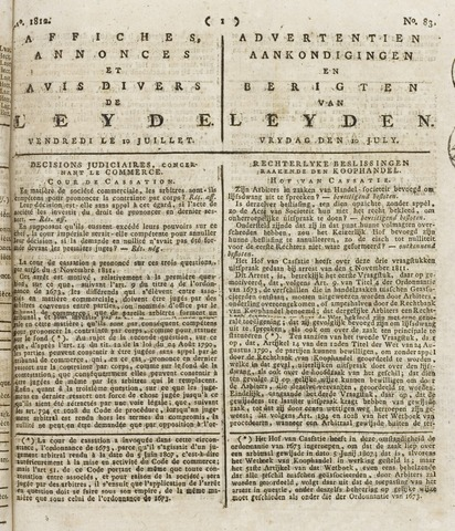 Leydse Courant 1812-07-10