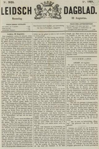 Leidsch Dagblad 1868-08-31