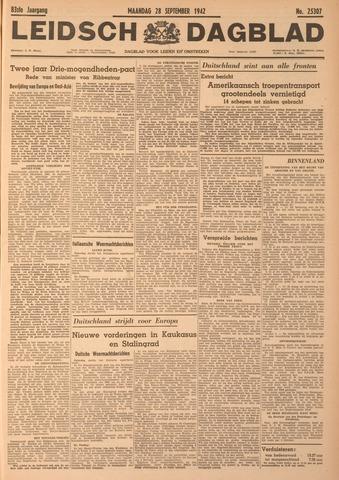 Leidsch Dagblad 1942-09-28