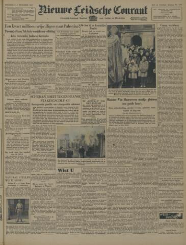 Nieuwe Leidsche Courant 1947-12-04
