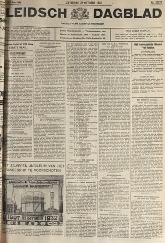 Leidsch Dagblad 1932-10-29