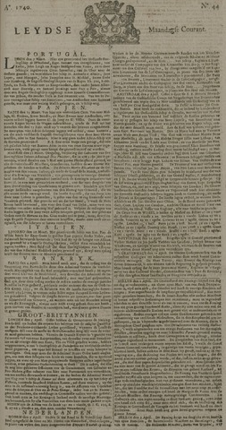 Leydse Courant 1740-04-11