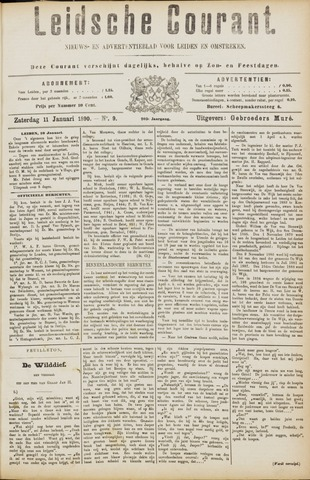Leydse Courant 1890-01-11