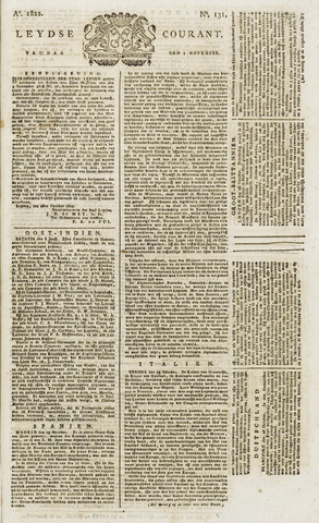 Leydse Courant 1822-11-01