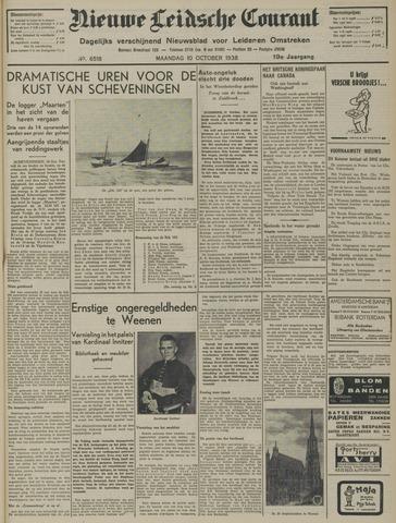 Nieuwe Leidsche Courant 1938-10-10