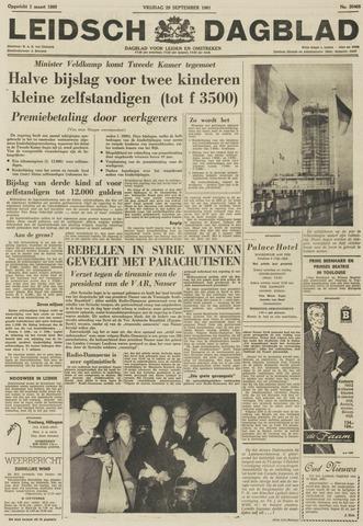 Leidsch Dagblad 1961-09-29