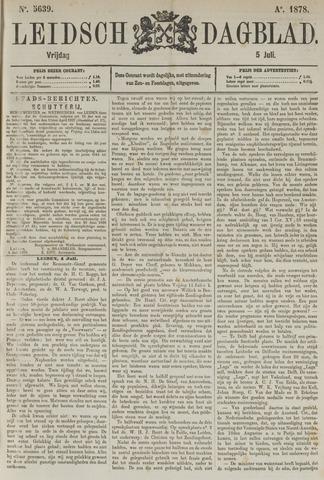 Leidsch Dagblad 1878-07-05