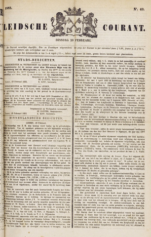 Leydse Courant 1883-02-20